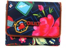 Oilily World Around S Wallet Geldbörse Blau Indigo Neu