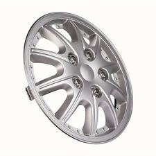 4pcs 14 Inches Car Auto Vehicle Chrome Wheel Rim Skin Cover Hubcaps Wheel Covers