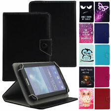Universal Printed Leather Cover Case For Samsung Galaxy Tab 3 4 A E S2 8.0 inch