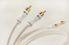 DH-Labs Silver Sonic White Lightning RCA Interconnect cable, 0.5m