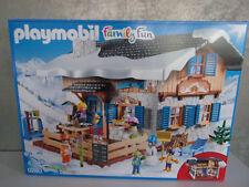 Playmobil Family Fun Cabaña de Esquí