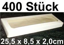 400x Caja Transparente embalaje de ENVÍO CARTÓN