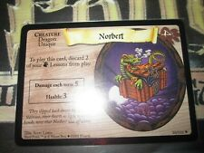 HARRY POTTER TRADING CARD GAME TCG NORBERT 30/116 RARE ENGLISH MINT