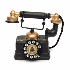Retro Vintage Rotary Telephone Statue Antique
