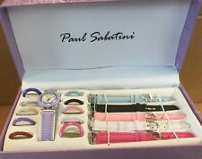 Paul Sabatini Interchangable Watch Set (never Used)