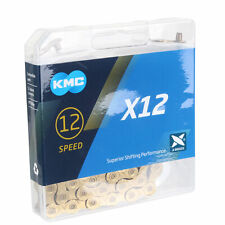 KMC X-12 Ti-Nitride Coated 12sp Chain, Gold