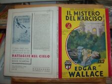 """GIALLI ECONOMICI MONDADORI N. 26 """"IL MISTERO DEL NARCISO di E. WALLACE"""" origin."""