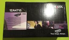 Lexmark Toner 12A4715 X422 schwarz black 12K