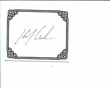 Kevin J. Anderson Star Wars X-Files Dune Author Signed Autograph Bookplate