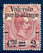 REGNO 1890 - VALEVOLE STAMPE 2/50 Cent.   NUOVO *