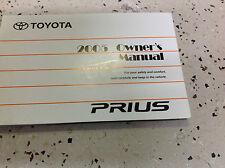 2005 TOYOTA PRIUS Owners Manual FACTORY DEALERSHIP NICE TOYOTA OEM GLOVE BOX