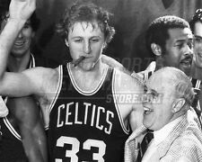 Larry Bird Red Auerbach Boston Celtics cigar  8x10 11x14 16x20 photo 812