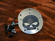 COUVERCLE ALLUMAGE CHROMÉ SKULL HARLEY-DAVIDSON TWIN CAM
