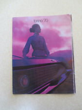 Original 1970 Ford Torino automobiles advertising booklet