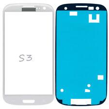 Frontglas Für Samsung Galaxy S3 i9300 i9305 Front Display Glas Weiß + Klebefolie