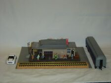 Tyco HO Scale Indian Springs Passenger Station Custom Assembled