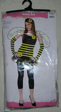 New Teen Youth Girls  Honey Bee Dress HALLOWEEN COSTUME SIZE M 7 To 9
