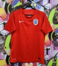 England Soccer National Team Football Shirt Jersey Top Nike Youth Xl / Mens Xs