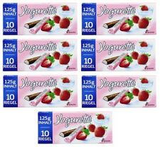 FERRERO Germany - 7 x Yogurette - Strawberry - 7 bars = 70 pcs - SHIPPING FREE