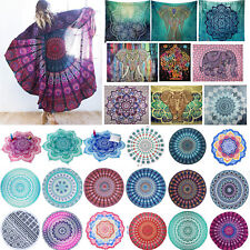 Mandala Tapestry Boho Throw Yoga Mat Indian Blanket Beach Pool Towel Hanging UK