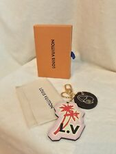 LOUIS VUITTON WORLD TOUR Palm Tree Headphones Pink Bag Charm, Key Chain SOLD OUT