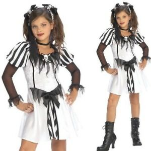 Kids Girls Pirate Outfit Dress Costume