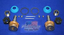 JEEP 1984-1989 Cherokee Wagoneer Sport Wagon Comanche Lower Ball Joints (Pair)