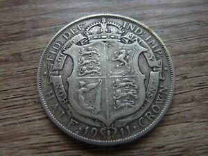 1911 George V Silver Half Crown (ref7VJ)