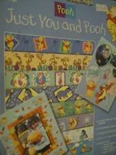 Just You & Pooh Paper Craft Book-Paper Pizazz- 12 Sheets For Scrapbooking