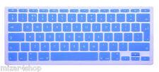 Copritastiera Tastiera protettiva silicone MacBook Air/Pro/Retina 13-15-17 BLU