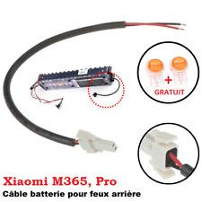 Câble de batterie pour feu Stop du garde-boue arrière Xiaomi Mijia M365, Pro