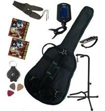 PACK 9 Accessoires Guitare Folk 4/4 (Housse, accordeur..)