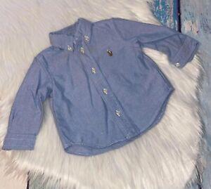 Ralph Lauren button-up size 9 mo