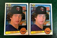 1983 Donruss #382 Frank Viola RC - Twins (2)