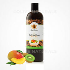 Black Seed Soap~Mango Kiwi~All Natural~Liquid~Gye Nyame Holistics