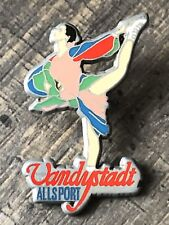 RARE PIN PINS VANDYSTADT KATARINA WITT JO ALBERTVILLE 1992 ARTHUS BERTRAND