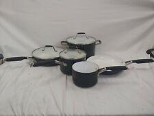 Calphalon Ceramic 8-Piece Cookware Set Nonstick Hard Anodized