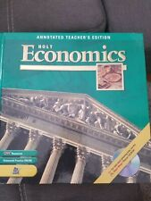 Holt Economics, Annotated Teacher's Edition by Rheinhart And Winston Holt