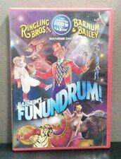 Barnum's Funundrum: Ringling Bros. & Barnum & Bailey   (Souvenir DVD)  LIKE NEW