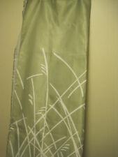 CYNTHIA ROWLEY TROPICAL STALKS FABRIC SHOWER CURTAIN MOSS GREEN/WHITE
