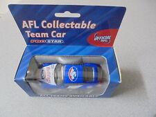 2002 AFL Football Collectable Club Car WESTERN BULLDOGS  Porsche