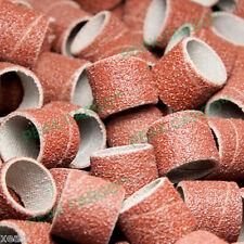 "40 PCS Sanding Bands Al-ox Abrasive 1/2"" P60 Grit w/407 Holder Rotary Dremel 408"