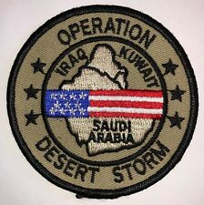Operation Desert Storm USAF US Air Force Patch