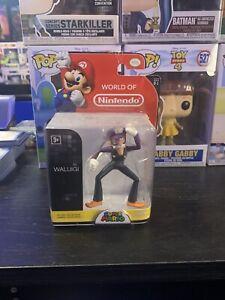 "World Of Nintendo Waluigi Series 1-1 First Edition 2.5"" Super Mario"