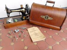 c.1903 Serviced Singer Sewing Machine Class 28 Complete Kit Orig. Acc. & Instruc