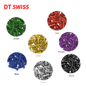 DT Swiss copper spoke Nipple 1.8mm 2.0mm Nipple Aluminum Alloy 16pc Nipple