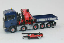WSI 02-2215 Scania S CS20N 10x4 Ballast Box + Palfinger 150002 1:50 New Boxed