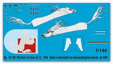 1/144 Beschriftung für eine Phantom 35 Jahre JG 72 1851