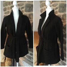 Ralph Lauren Alpaca Cotton Cardigan Sweater Womens Small Belted