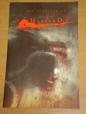 WELCOME TO HOXFORD #4 RI COVER 2008 IDW BEN TEMPLESMITH